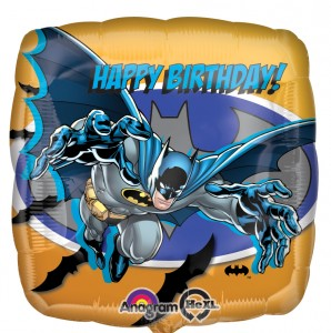Batman licensed balloon