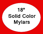 "Mylar Balloons 18"" Solid Color"