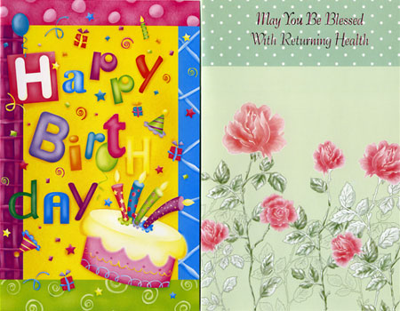 Individually wrapped all occasion greeting cards m4hsunfo