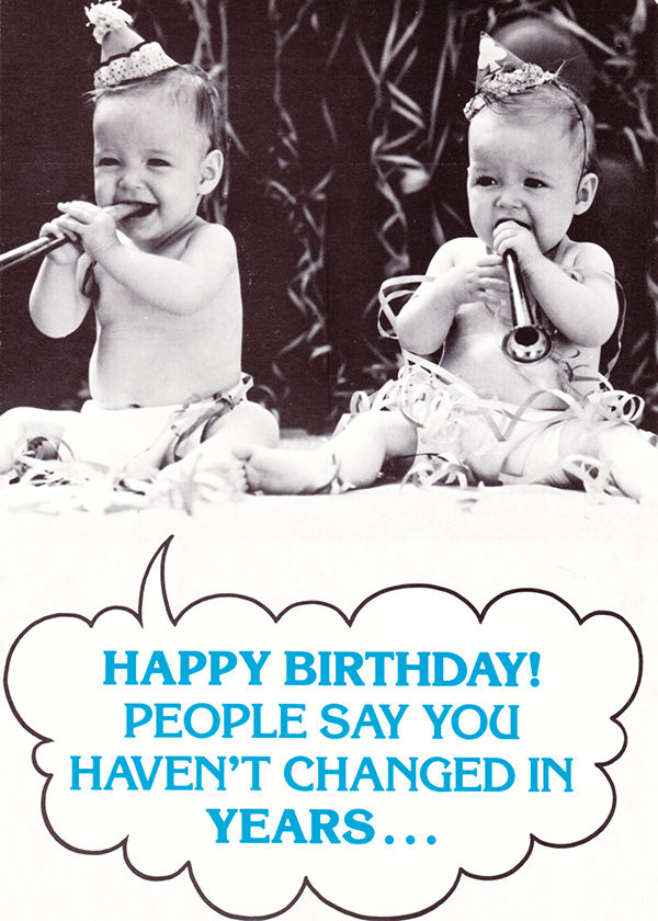 Comic Birthday Cards With Babies