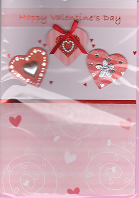 Valentines day handmade greeting card m4hsunfo