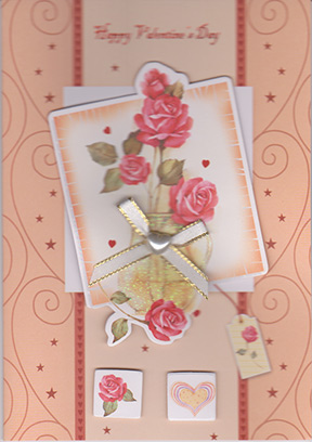 Valentines day handmade greeting card m4hsunfo
