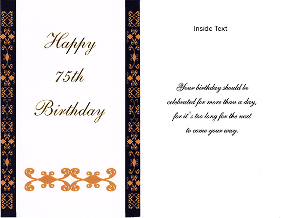 94 75th Birthday Ecards