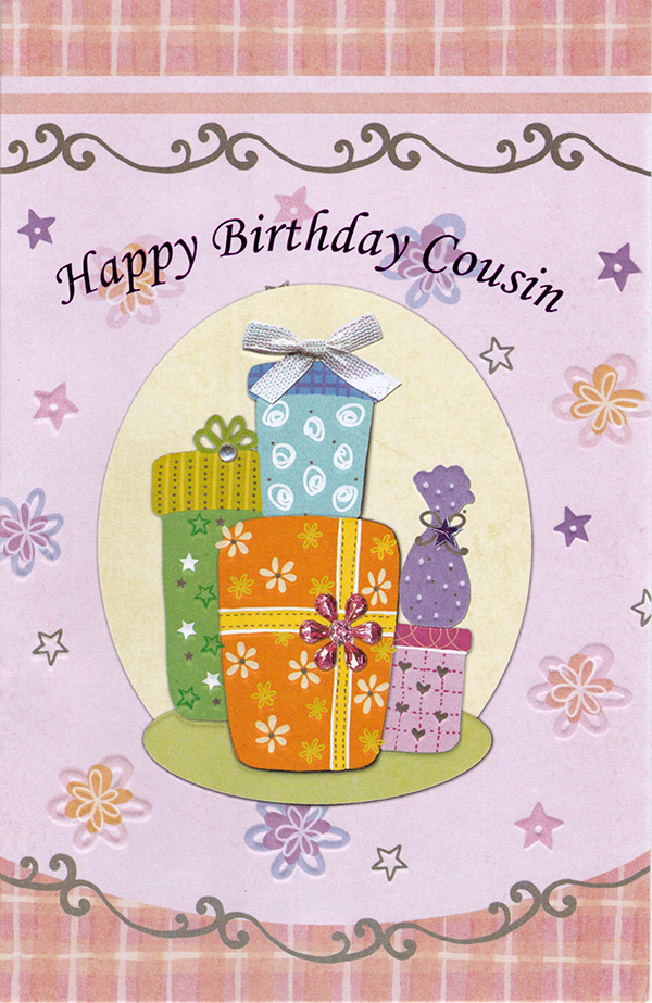 Birthday cousin adult greeting cards birthday cousin adult m4hsunfo