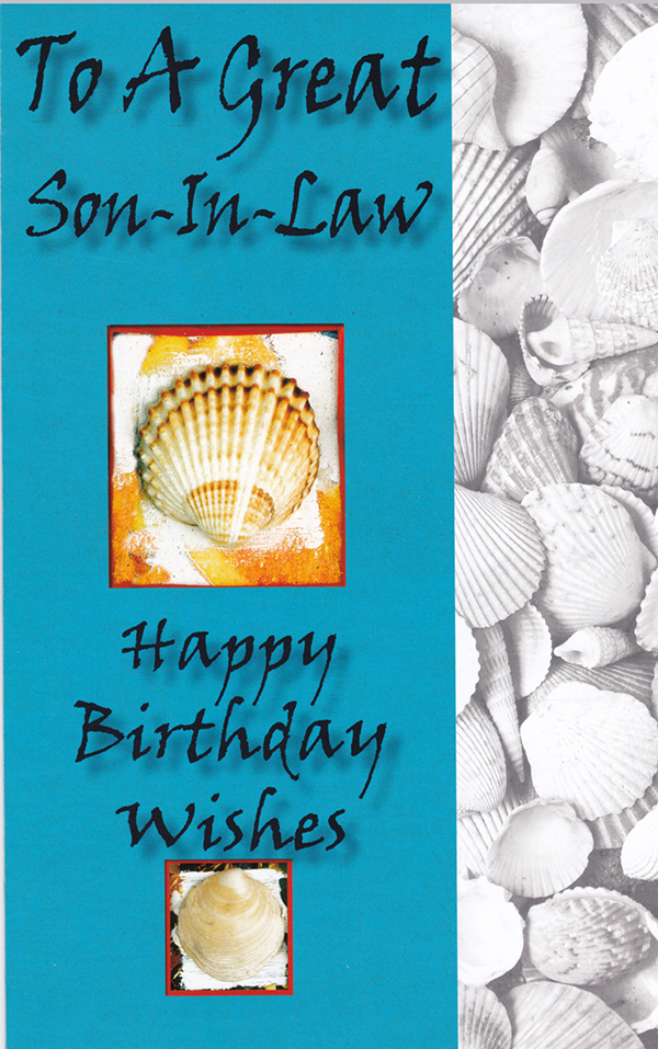 Birthday Son In Law Greeting Cards