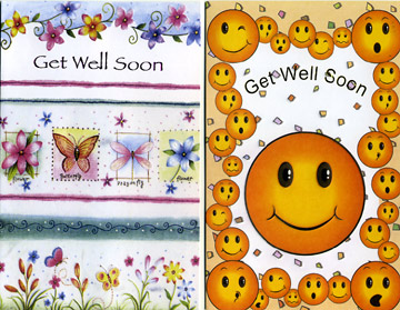 get well greeting card assortment - Get Well Greeting Cards