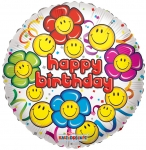Individually Packaged Birthday Mylar Balloon (5 count)