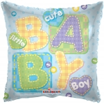 Individually Packaged Baby Boy Mylar Balloon (5 count)