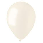 Ivory Pearl Latex Balloons - 100 ct.
