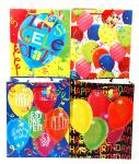Birthday Gift Bags - Large (12 pack)