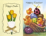 Easter cards general assortment