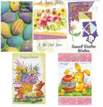 60 Assorted Easter Cards