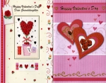 Valentine cards relatives assortment