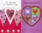 Valentine greeting cards - all relatives