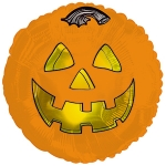 "Halloween Mylar Balloon 18"" (1/2 dozen)"