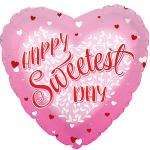 Sweetest Day Mylar Balloons (6 pack)