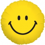 Smiley Face Mylar Balloon (6 pack)