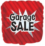 Garage Sale Mylar Balloon (1/2 dozen)