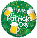 St. Patrick's Day Mylar Balloon (6 pack)