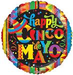 Cinco de Mayo Balloons (6 pack)