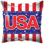 Patriotic USA Mylar Balloons (6 pack)
