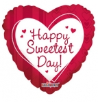 "Sweetest Day Mylar balloon 18"" (1/2 dozen)"