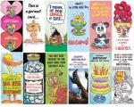 *432 Funny All Occasion Studio Cards (6 pack)