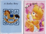 Wrapped Baby and baby shower card assortment