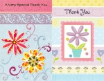 Wrapped Thank You cards 60 pack