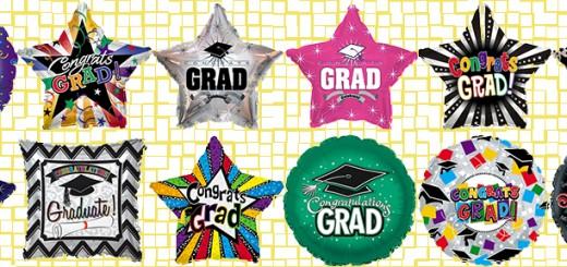 graduation mylars