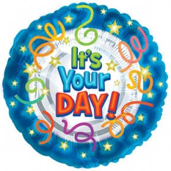 Birthday Mylar Balloon 1 2 Dozen