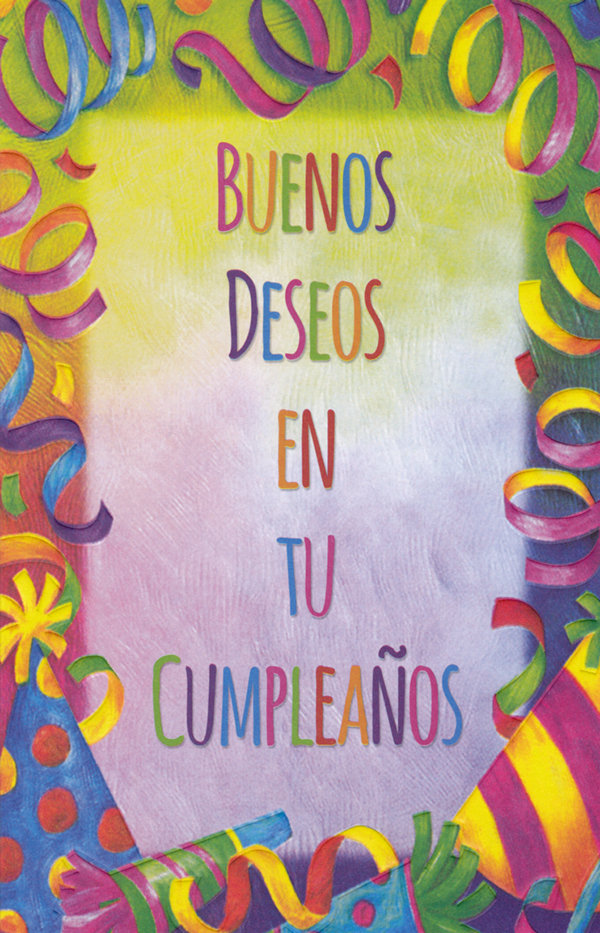 Spanish Birthday Card