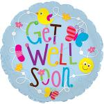 Jumbo Get Well Mylar balloon (5 pack)