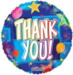 Individually Packaged Thank You Mylar Balloon (5 count)