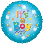 Individually Packaged Baby Boy Mylar Balloon