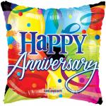 Individually Packaged Anniversary Mylar