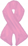 Pink Ribbon Shape-A-Loon (5 pack)