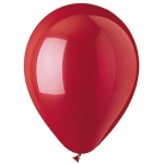 "Red 12"" Latex Balloons - 100 ct."