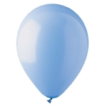 "Light Blue 12"" Latex Balloons - 100 ct."