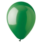 "Emerald Green 12"" Latex Balloons - 100 ct."