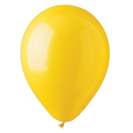 "Yellow 12"" Latex Balloons - 100 ct."