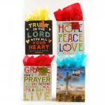 Christian Inspirational Bags - Large (12 pack)