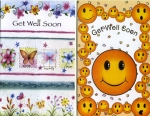 Get Well greeting card assortment