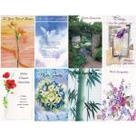Sympathy cards 120 pack