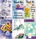 *72 Assorted Thank You Cards - 18 cents per card