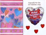 Valentine greeting cards - general assortment