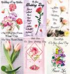 *60 Assorted Wedding and Bridal cards - 16.5 cents per card