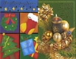 Christmas greeting cards - all relatives