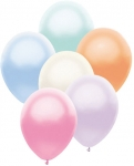 Pearlized Asst latex balloon 72 ct