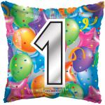 #1 Mylar Balloon ( 6 pack)